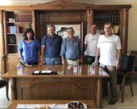 Ημαθία: Επίσκεψη της βουλευτή Φρόσω Καρασαρλίδου σε αγροτικούς συνεταιρισμούς.