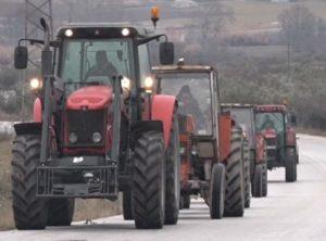 τρακτερ,αγρότες, κινητοποιήσεων