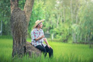 αγρότης, ψηφιακή, γεωργία